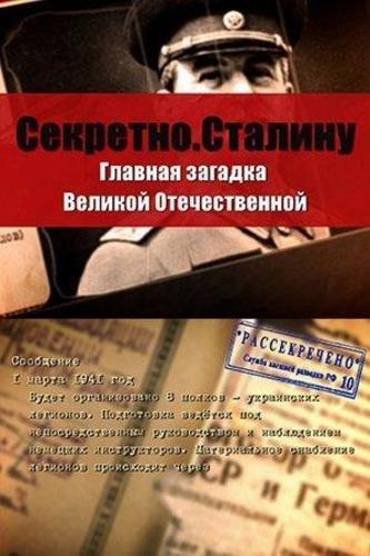 Секретно. Сталину. Главная загадка Великой Отечественной войны (2016)